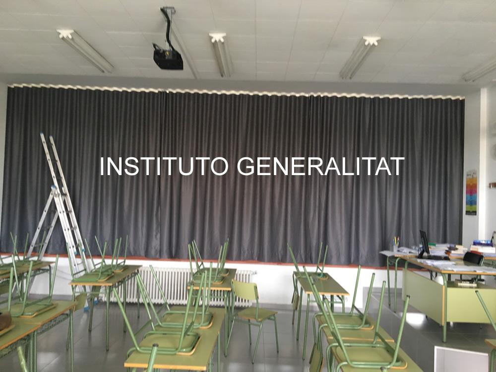 Aula instituto Generalitat